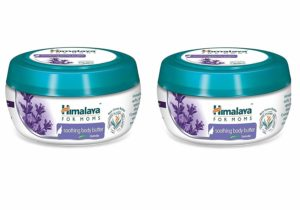 Himalaya for Moms Soothing Body Butter, 200ml Combo of 2 (Levender)