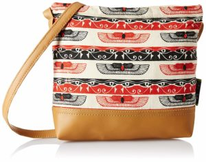 Kanvas Katha Women's Handbag (Multicolor)