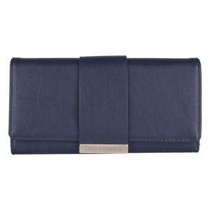 Lino Perros Women's Wallet (Blue) at Rs 518