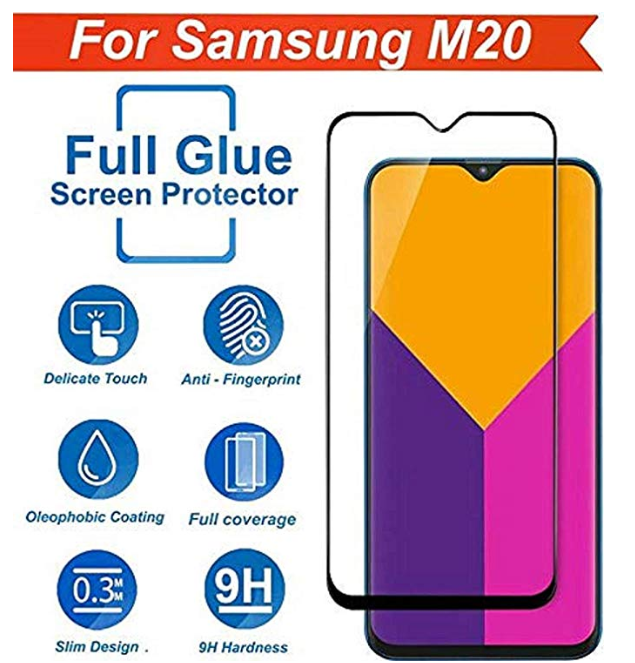 Original Kavacha Premium Samsung Galaxy M20 Tempered Glass