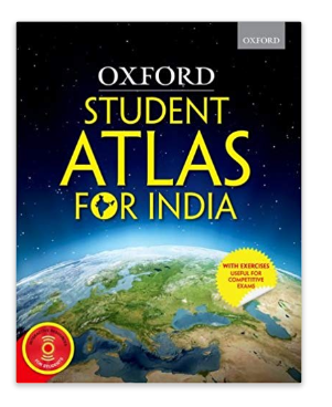Oxford Student Atlas for India with exercises useful for Competitive Exams