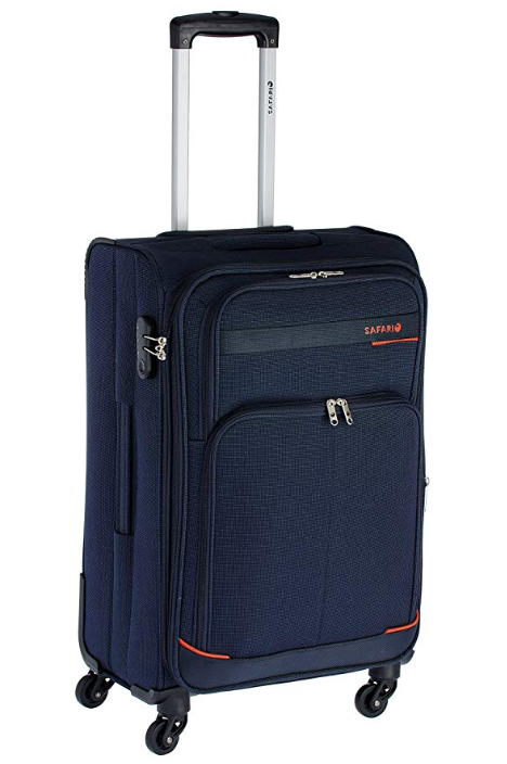 Safari Polyester Navy blue Travel Duffle