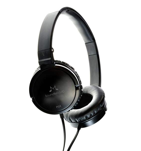 Soundmagic P21 Over-Ear Headphones (Black)