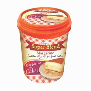 TSR International Blend Margarine for Cakes, Muffins, Bread, Bun and Brownies, 500ml