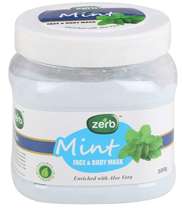 Zerb Mint Face and Body Mask