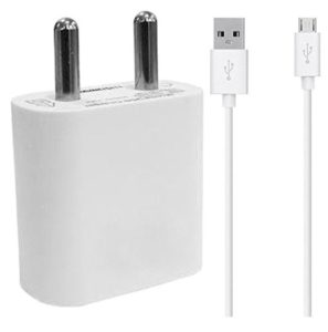 shopdeal 2 Amp Mobile Charger with USB Charging Data Cable