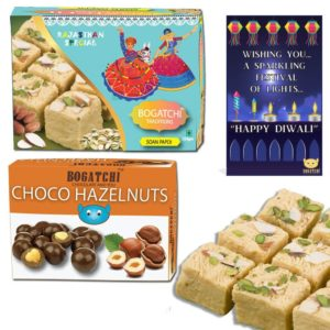 Amazon- Bogatchi Diwali Gift for Family, 350g at Rs 101