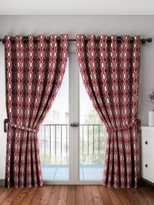 Bombay Dyeing 214 cm (7 ft) Polyester Door Curtain