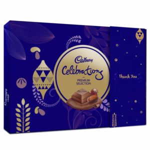 Cadbury Celebrations Premium Assorted Chocolate Thank You Gift Pack, 286.3g