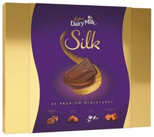 Cadbury Dairy Milk Silk Miniatures Chocolate Gift Box, 240g