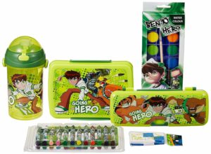 Cartoon Network Ben 10 back to School stationery combo set