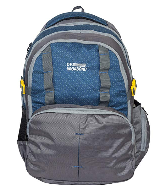 Devagabond 52 Ltrs Blue School Backpack