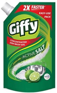 Giffy Green Lime and Active Salt 1000ml