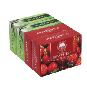 Herbal Strawberry and Lemongrass (Pack Of 4,120 gm each)