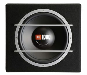 JBL Sealed Subwoofer Enclousure