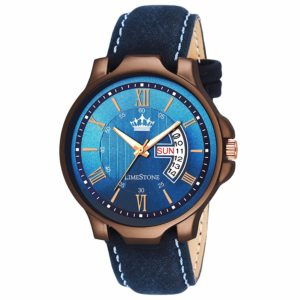 LimeStone Day and Date Functioning Analogue Men's Watch