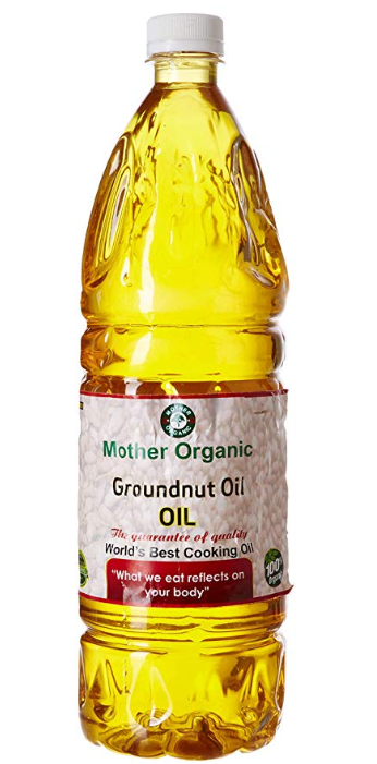 Mother Organic Ground Nut Oil, 1L