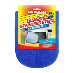 Mr Gleam Microfibre Glass and Stainless Steel Mitt at Rs 99