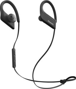 Panasonic RP-BTS35E-K Bluetooth Headset with Mic (Black, In the Ear)