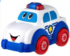 Playgro Sounds and Lights Police Truck  (Multicolor)
