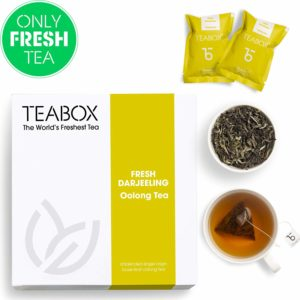 Teabox Darjeeling Oolong Tea