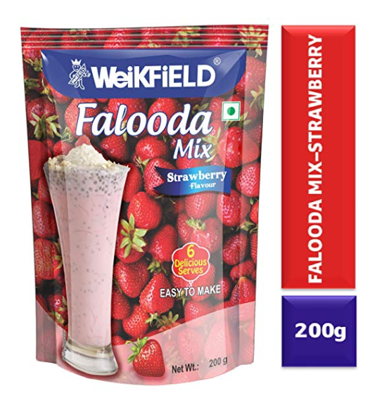 Weikfield Strawberry Falooda