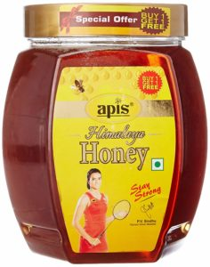 Apis Himalaya Honey, 1kg (Buy 1 Get 1 Free) at Rs.255 Only