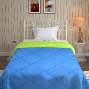 Bombay Dyeing Cynthia Solid Polyester Single Bed Reversible Comforter
