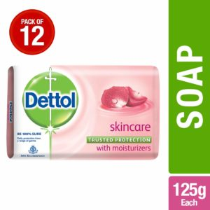 Dettol Skincare - 125 g (Pack of 12)