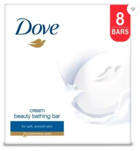 Dove Cream Beauty Bathing Bar (800 g, Pack of 8)