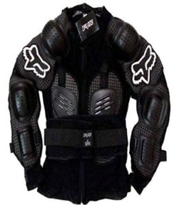 Fox Riding Gear Body Armor with Stretchable Fabric