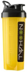 HAANS Typhoon Gym Shaker Yellow Colour 700 ml Shaker  (Pack of 1, Yellow)