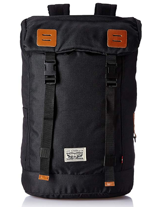 Levi's Fabric 32 cms Black Backpack (38004-0022)