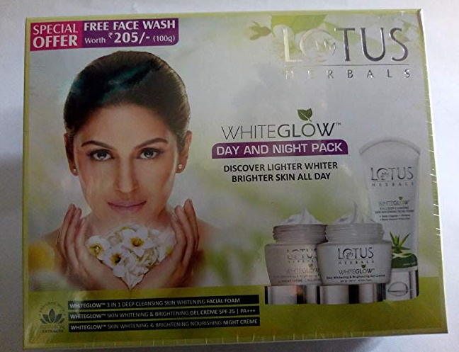 Lotus Herbals White Glow Day And Night Pack, 100g