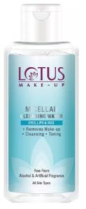Lotus Makeup Micellar Cleansing Water Makeup Remover  (100 ml)