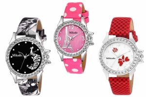 Mikado Analogue Multicolor Romina Combo Set of Women's Watches