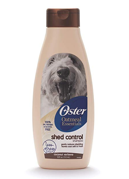 Oster 078590-135 Oatmeal Naturals Shed Control Shampoo 18-Ounce