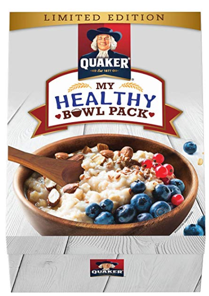 Quaker Bowl Pack, 1380 g