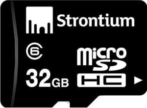 Amazon- Buy Strontium SR32GTFC10R 32GB Micro SDHC Class-6 Memory Card