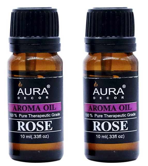 AuraDecor Rose Aromatherapy Oil