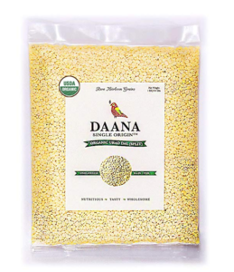 Daana Premium Organic Urad Dal (Split), Single Origin, 1 Kg