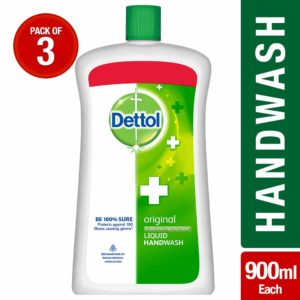 Dettol Original Liquid Jar - 900 ml (Pack of 3)