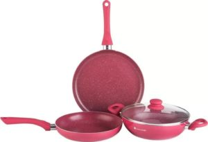 Flipkart- Buy Wonderchef Romano Set Induction Bottom Cookware Set