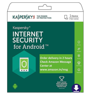 Kaspersky Internet Security for Android Latest Version- 1 Device, 1 Year