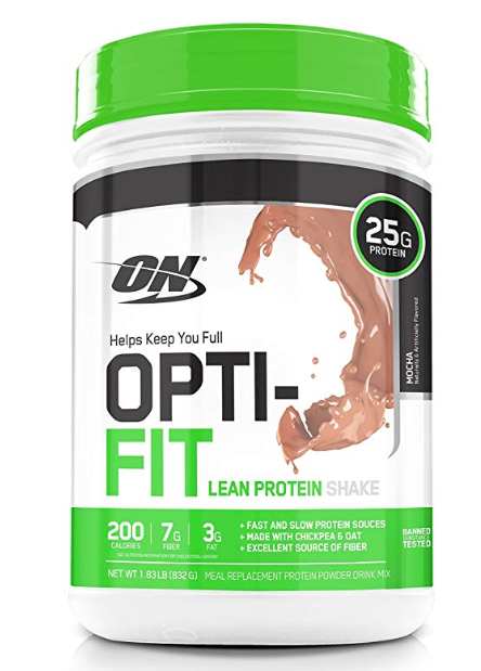 Optimum Nutrition (ON) Opti-Fit Meal Replacement Protein Powder Drink