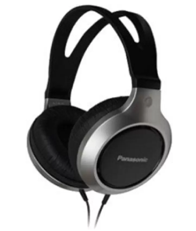Panasonic RP-HT211E-S Wired Headphone  (Silver, Over the Ear)