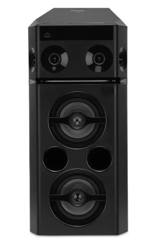 Panasonic SC-UA30GW-K 300 W Bluetooth Party Speaker  (Black, 2.0 Channel)