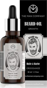 The Man Company 100% Natural Beard Growth Oil