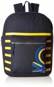 United Colors of Benetton Navy Blue Casual Backpack