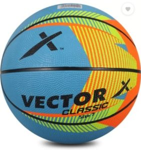 Vector X BB-CLASSIC-MULTI-7 Basketball - Size: 7  (Pack of 1, Multicolor)